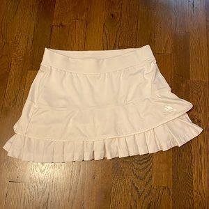Adidas Pleated White Tennis Skirt